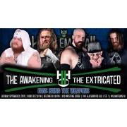 """H2O Wrestling DVD September 28, 2019 """"HUSTLEMANIA 2"""" - Williamstown, NJ"""