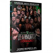 "H2O Wrestling DVD November 16, 2019 ""Matt Tremont & Danny Havoc's Deathmatch Extravaganza 2"" - Williamstown, NJ"
