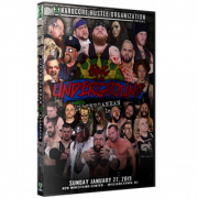 "H2O Wrestling DVD January 27, 2019 Subterranean Violence Vol. #4: ""King of the Underground"" - Williamstown, NJ"