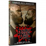 "H2O Wrestling DVD May 18, 2019 Subterranean Violence Vol. #5: ""Double Death Wars"" - Williamstown, NJ"