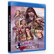 "RISE Wrestling Blu-ray/DVD January 19, 2019 ""Ascent: Row On The Rise Episodes 23-27"" - Texas City, TX"