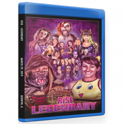 "RISE Wrestling Blu-ray/DVD March 29, 2019 ""Legendary"" - Berwyn, IL"