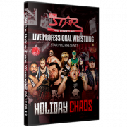 "Star Pro Wrestling DVD December 8, 2019 ""Holiday Chaos"" - Warminster, PA"