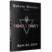"Unholy Warfare DVD April 20, 2019 ""Unholy Trinity"" - Reidsville, NC"