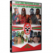 "EWE DVD October 3, 2020 ""Tradiciones Enmascaradas"" - Jeffersonville, IN"