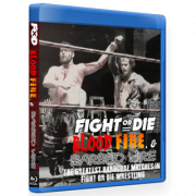 "Fight Or Die Blu-ray/DVD ""Blood Fire & Barbed Wire"""
