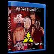 "Guanatos Hardcore Crew Blu-ray/DVD ""Riesgo Biologico: Lucha Extreme En Curentena"""