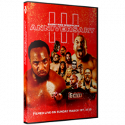 "Glory Pro Wrestling DVD March 1, 2020 ""Three Year Anniversary"" - Collinsville, IL"