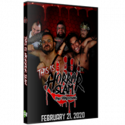 "Horror Slam Pro Wrestling DVD February 21, 2020 ""This Is Horror Slam"" - Lincoln Park, MI"