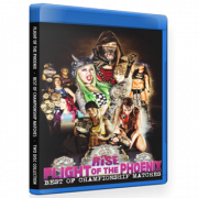 "RISE Wrestling Blu-ray/DVD ""Flight of The Phoenix: Best of Championship Matches"""