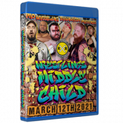 """Pro Wrestling Trainwreck Blu-ray/DVD March 12, 2021 """"Wrestling's Middle Child"""" - Connersville, IN"""