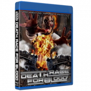 """Pro Wrestling Trainwreck Blu-ray/DVD April 2, 2021 """"Death Race For Blood"""" - Connersville, IN"""