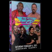 "Sean Henderson Presents DVD February 6, 2021 ""Weekend At Sean's House 2: Night 2"" - Williamstown, NJ"