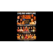 "PCW November 18, 2017 ""November Pain 2017"" - Cleveland, OH (Download)"