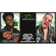 Ryse Pro Wrestling December 1, 2018 - Lemont Furnace, PA (Download)
