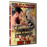 "St. Louis Anarchy DVD August 27, 2016 "" Circus Maximus: Us vs. Them Night 2"" - Alton, IL"