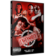 "Smash Wrestling DVD July 30, 2016 ""Uncensored"" - Oshawa, ON"