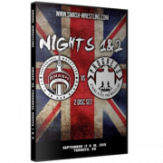 "Smash/Progress Wrestling DVD September 17 & 18, 2016 ""Smash vs. Progress Night 1 & 2"" - Toronto, ON"