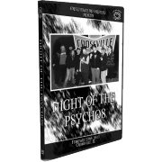 """Stricktly Nsane Pro Wrestling DVD/Blu-Ray May 11, 2013 """"Night of the Psychos 2"""" Crossville, IL"""