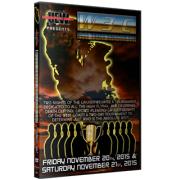 "UEW DVD November 20 & 21, 2015 ""West Coast Cruiser Cup Tournament 2015"" - Los Angeles, CA"