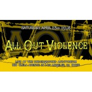 "UEW April 23, 2016 ""All Out Violence"" - East Los Angeles, CA (Download)"