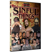 "UEW DVD September 17, 2016 ""Sinful Things"" - East Los Angeles, CA"