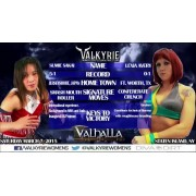 "Valkyrie Pro Wrestling March 7, 2015 ""Valhalla"" - Staten Island, NY (Download)"