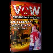 """VOW DVD """"Ultimate Violence Volume 1"""""""