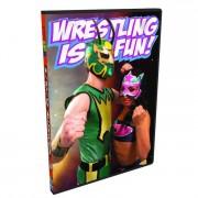 """Wrestling Is Fun DVD March 10, 2012 """"2"""" - Allentown, PA"""