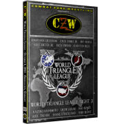 "CZW DVD October 4, 2014 ""World Triangle League - Night 3"" - Oberhausen, Germany"