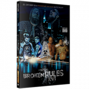 "wXw DVD October 22, 2016 ""Broken Rules XVI"" - Frankfurt, Germany"