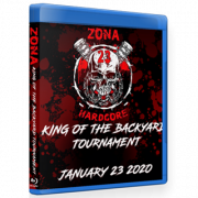 "Zona-23 Blu-ray/DVD January 23, 2020 ""King of the Backyard Tournament"" - Mexico City, MX"
