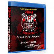 "Zona-23 Blu-ray/DVD March 15, 2020 ""La Guerra Comienza"" - Mexico City, MX"