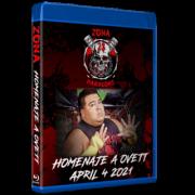 """Zona-23 Blu-ray/DVD April 4, 2021 """"Homenaje A Ovett"""" - Parts Unknown, MX"""